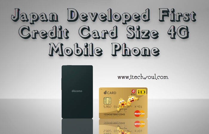 First Credit Card size 4G Mobile