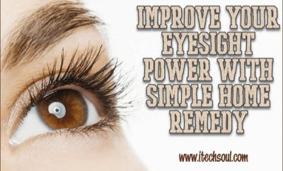 Improve Eyesight Power
