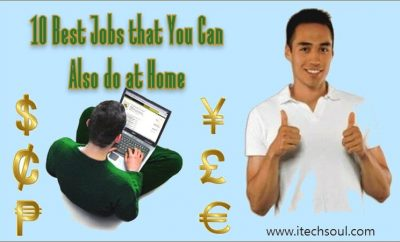 10 Best Jobs that You Can Also do at Home