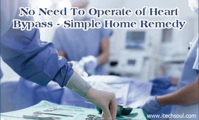 No Need To Operate of Heart Bypass