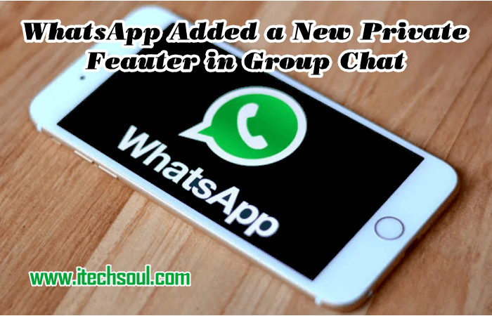WhatsApp Private Feature