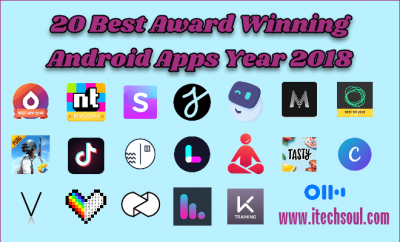 20 Best Editors Choice Award Android Apps Year 2018