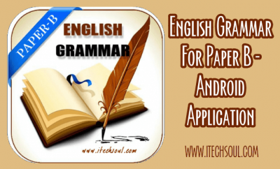 English Grammar For Paper B