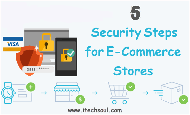 5 Security Steps for E-Commerce Stores