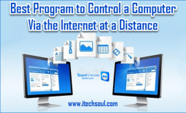 Control a Computer Via the Internet at a Distance