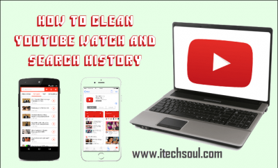 Clean YouTube Search History