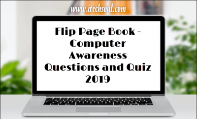 Computer Awareness Questions and Quiz