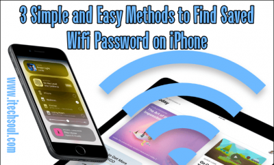 Find Saved Wifi Password on iPhone