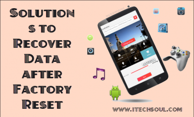 Recover Data after Factory Reset Android