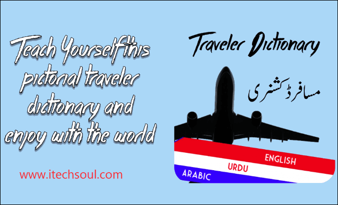 Traveler Dictionary English, Urdu and Arabic_