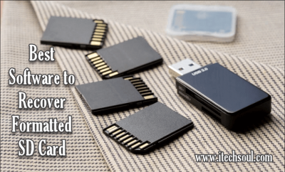 Software to Recover Formatted SD Card