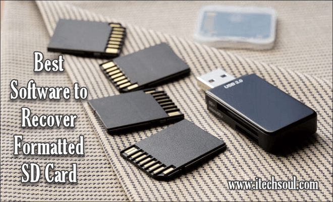 Best Software to Recover Formatted SD Card