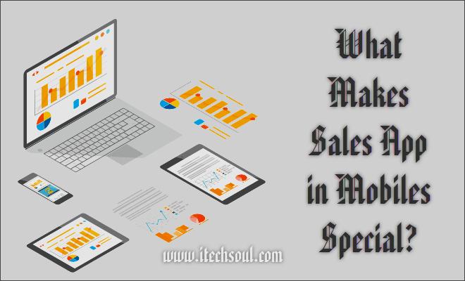 Sales App in Mobiles