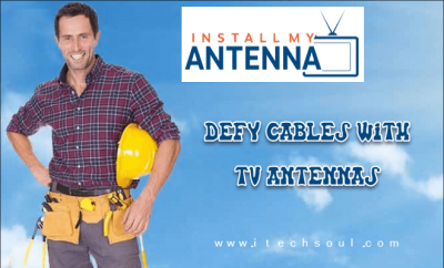 Defy Cables with TV Antennas