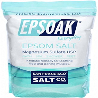 1-Epsom salt bath