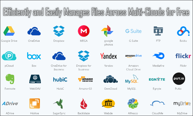 Efficiently and Easily Manages Files Across Multi-Clouds for Free