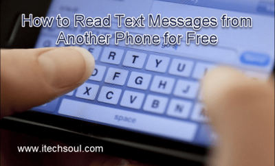Read Text Messages from Another Phone