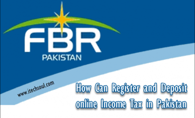 online Income Tax in Pakistan