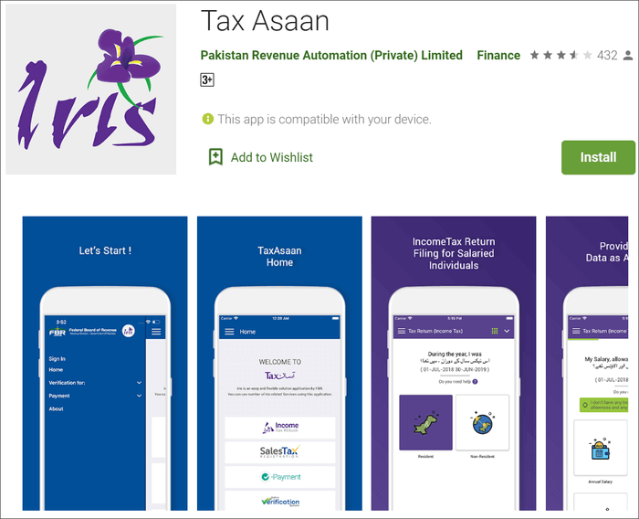 tax assan for android
