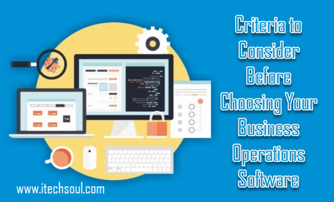 Business Operations Software
