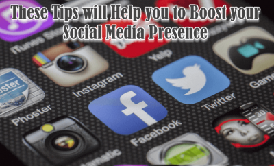 Boost your Social Media Presence