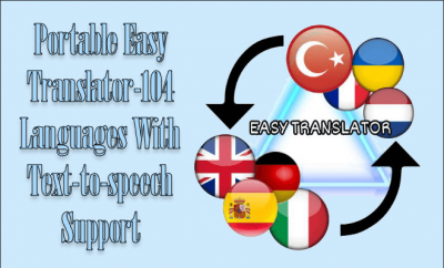 Portable Easy Translator