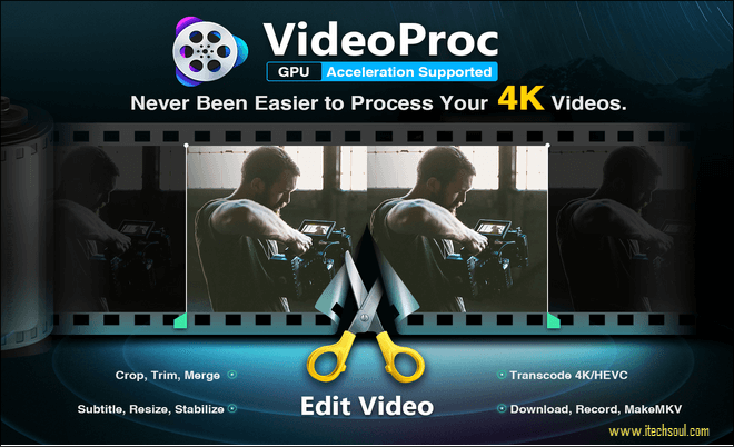VideoProc the easiest choice to merge and edit 4K and large videos on desktop