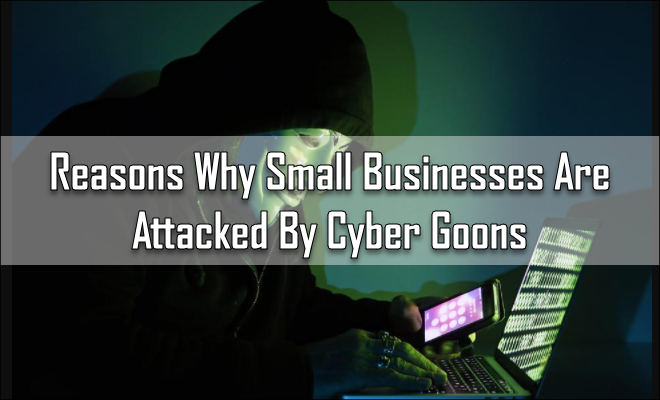 Reasons Why Small Businesses Are Attacked By Cyber Goons