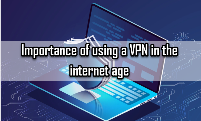 Importance of using a VPN in the internet age